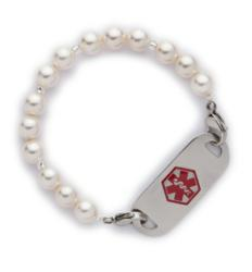 Fashion Alert Swarovski Crystal White Pearl B-30