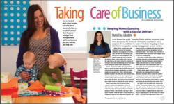Baby Riddle's, Tamatha Grabin Featured in Scrubs Magazine