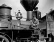 A scene from Buster Keaton's classic film The General