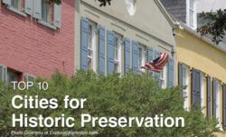 Livability.com Top 10 Cities for Historic Preservation