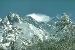 Majestic Mt. Everest.