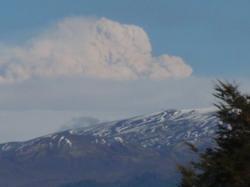 Puyehue Volcano ash