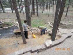Back2Basics residents make headway in pre-planting preparations.