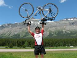 Bob Lee will cycle 12,000 miles for A Ride for 3 Reasons