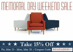 Thrive Furniture Celebrates Website Launch With Huge Memorial Day Sale