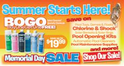 pool supplies sale