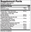 Prost-P10x Supplement Label