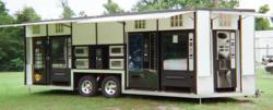 Carts Blanche LLC, VendaCarts, vending trailers, concession trailer, VendaCarts Mobile Automated Kiosk
