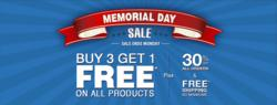 Select Blinds Memorial Day 2012 Buy 3 Get 1 Free + 30% off Sale
