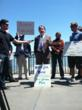 Ron Sundergill, Pacific Region Director for National Parks Conservation Association, joins environmental groups to launch petition drive to put Yosemite Restoration Initiative on SF Ballot