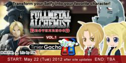 Fullmetal Alchemist: Brotherhood x TinierMe Vol.1