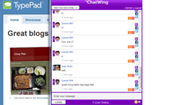 chatwing, facebook chat, shoutbox, chat box, free chat software, shoutbox, shout box, website chat