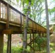 Timber Pedestrian Bridge Profile