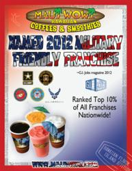 Supporting members of our military with low-cost franchise options