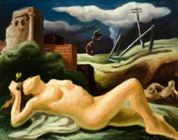 Europa ( Study), c.1941 by Thomas Hart Benton