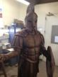 Big Statues Produces a Larger-Than-Life Bronze Spartan for the 10th...