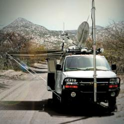 MorganFranklin on-the-move mobile communications vehicle