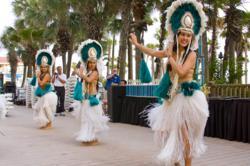 Polynesian Dance Show, Holiday Inn Resort, Panama City Beach