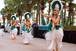 Polynesian Dance Show, Holiday Inn Resort, Panama City Beach