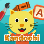 Gato is the cat featured in Kandoobi Animales en Español mobile app for children.