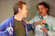 Kevin Bergen and Ross Beschler in ASYMMETRIC.