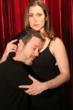 Kim Carson and Kevin Bergen in ASYMMETRIC. Promo photo.