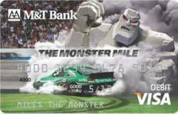 Monster Mile Check Card