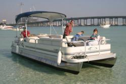 Sunshine Pontoon Boat Rentals in Destin, FL | 66 Harbor Blvd