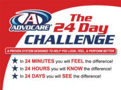 24 Day Nutritional Challenge at Be Fitness Center