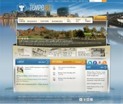 Tempe AZ website powered by Vision Internet