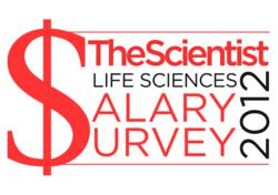 2012 The Scientist Salary Survey Life Science