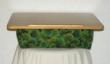 Maple lap desk with green ginkgo fabric