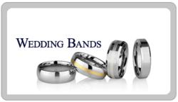 www.TungstenWorld.com Durable MensTungsten Carbide Wedding Bands