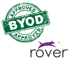 Rover solves Enterprise mobile BYOD