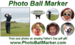 Photo Ball Marker - Father's Day Golf Gift