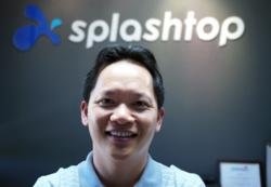 Photo of Mark Lee, co-founder and CEO of Spalshtop Inc.