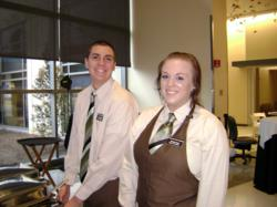 Penn College Hospitality students at Susquehanna Tower
