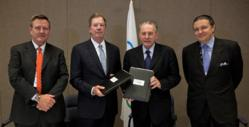 IOC and USOC sign important financial accord