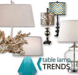 Top 5 Table Lamp Trends