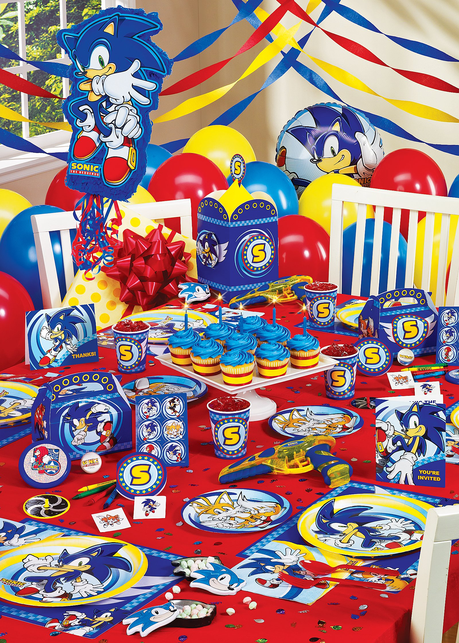 Hosts sega sonic sweepstakes on facebook for All decoration games