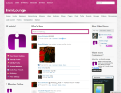 ImmiLounge member home page