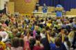 Sammy and Sam captivate students at Carl Ben Eielson Elementary, Grand Forks AFB, ND