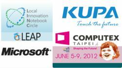 KUPA, Microsoft, Computex, LINC, LEAP, OEM, ODM,ISV, 2012, tablet, enterprise, solution