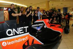 QNET brings the Marussia F1 Team Show Car to Lebanon