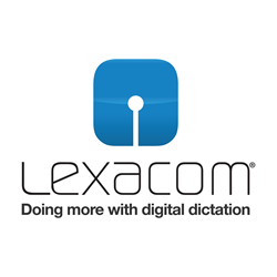 Lexacom's latest software offers optional voice recognition and secure mobile dictation