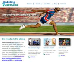 Marketing Adrenaline Website