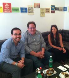IzzoNet CEOs and Jeff Pulver