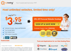 Myhosting Coupon, Up to 39% Off