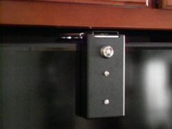 Black Refrigerator Lock
