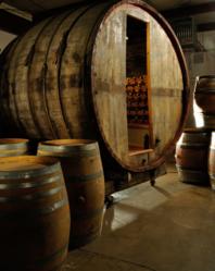 Joseph & Curtis Custom Wine Cellars   Barrel Wine Cellar